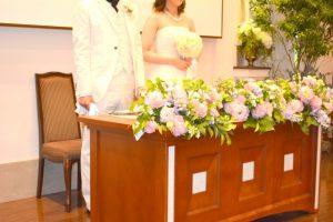 吉方位で結婚