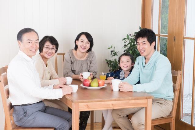家族の引越し鑑定例