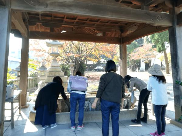 奇門遁甲の吉方位で沼名前神社へ