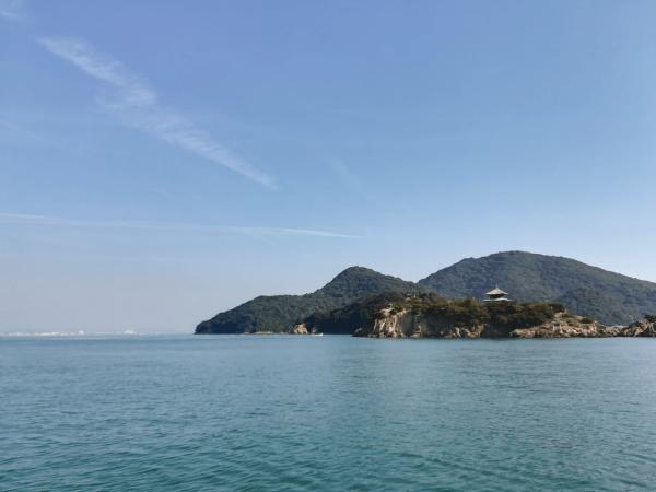 奇門遁甲で仙酔島へ