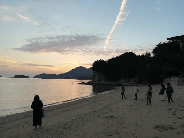 奇門遁甲の吉方位で仙酔島