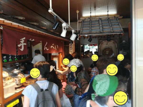 奇門遁甲の吉方位で西新井の煎餅屋へ
