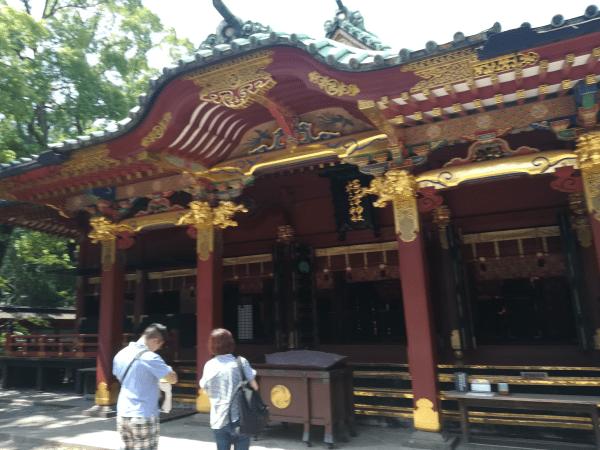 奇門遁甲の吉方位で根津神社へ