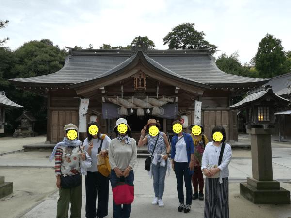 奇門遁甲で八重垣神社へ