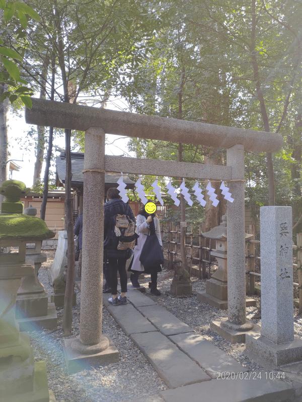 吉方取りで巽神社へ
