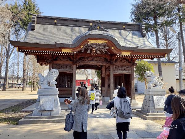 祐気取りで小野神社へ