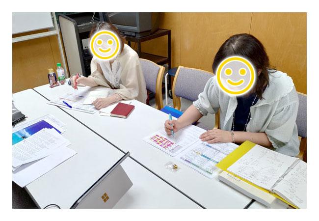 気学・奇門遁甲教室風景