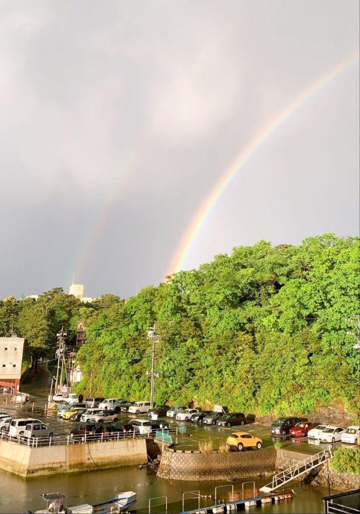 奇門遁甲の吉方位で瑞兆の虹が出現
